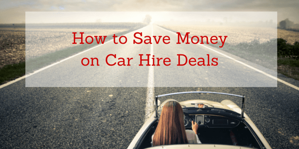 Save Money on Car rental